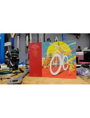 The Bicycle Colouring Book offers a nice way to while away some time on non-riding days