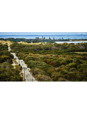 Eleven miles separate Rottnest from Perth but it's a world away from city life