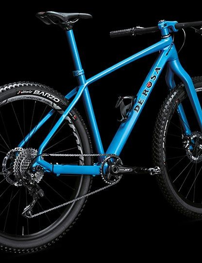 We love the look of the colour matched rigid fork