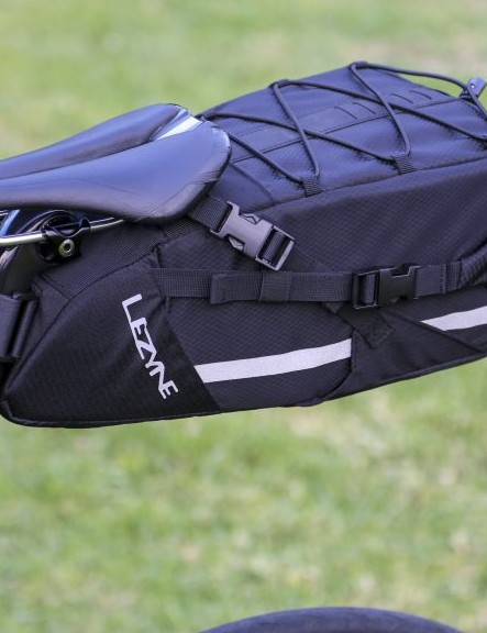 The XL Caddy saddle bag has a 7.5L capacity
