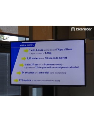 Michelin's extrapolations for a 10-watt savings.