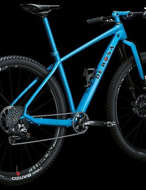 The Bigger gets suspension in the form of a Rockshox RS1