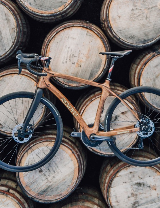 Love bikes and whisky? Wood bicycle maker Renovo has partnered with Glenmorangie whisky distillers to use their casks for the frames