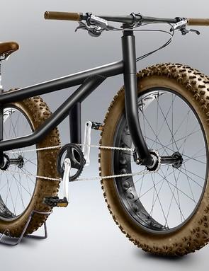 It's an all-wheel-drive fat bike, of course