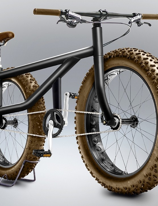 It's an all-wheel-drive fat bike, of course