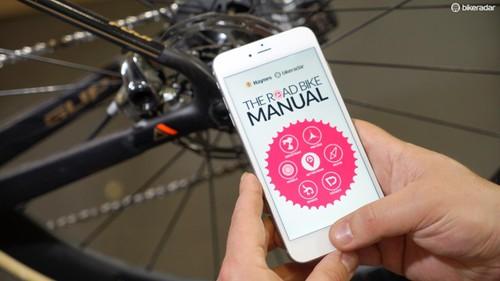 Bike repair app   The Road Bike Manual by Haynes and