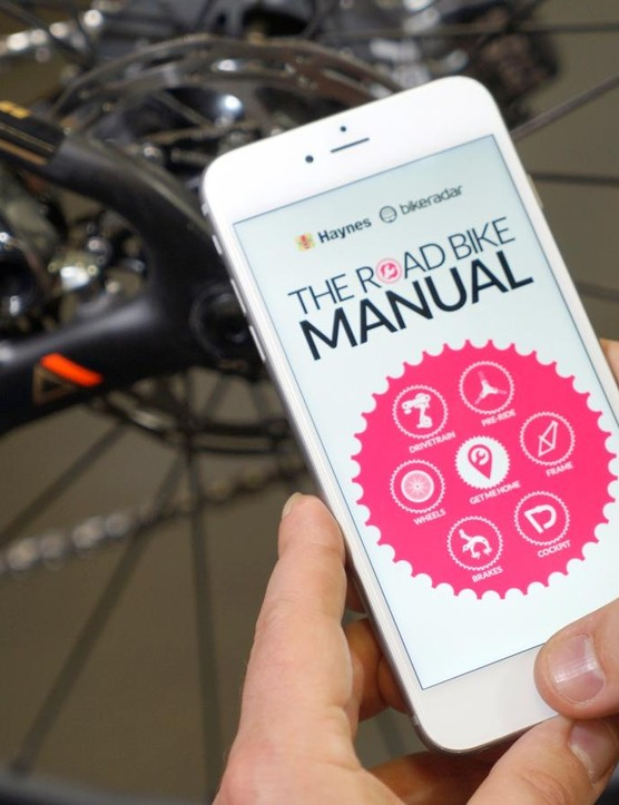 The Road Bike Manual covers every aspect of bike repair