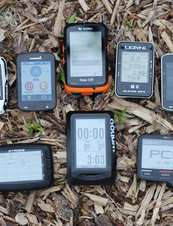 There's a wide choice of bike computers available, from basic GPS units to full-on training devices