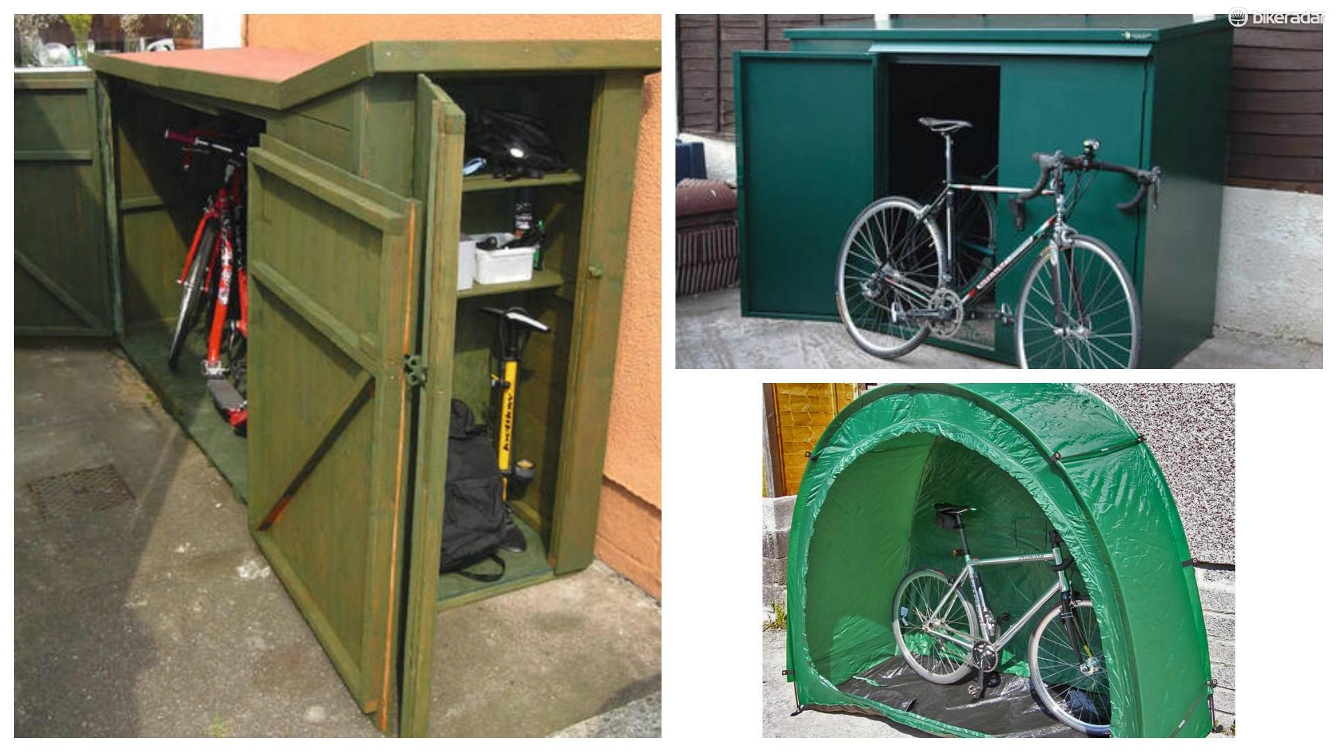 These standalone bike shelters are an option if you donu0027t have room for a & How to improve your bike shedu0027s security - BikeRadar