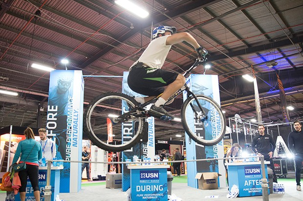 Be inspired by the MTB stunt demos