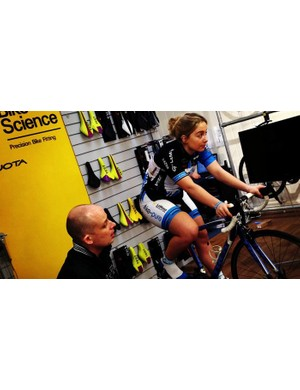 Some bike shops include a bike fit with the purchase of a new bike, that's hard for an online retailer to do