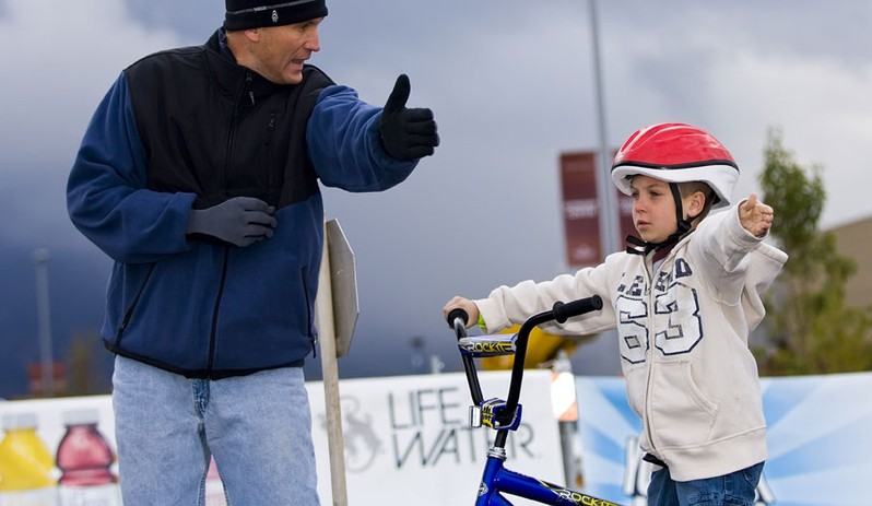 Proper bike safety can be taught at any age; the earlier the better.