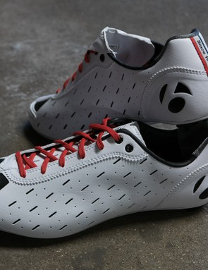 Bontrager's retro looking race slippers are bang up to date when it comes to features