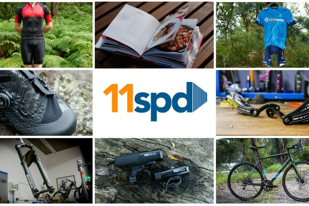 This week's 11spd covers 11 hot new products across road cycling and mountain biking. There's sure to be a few brands and products you haven't heard of