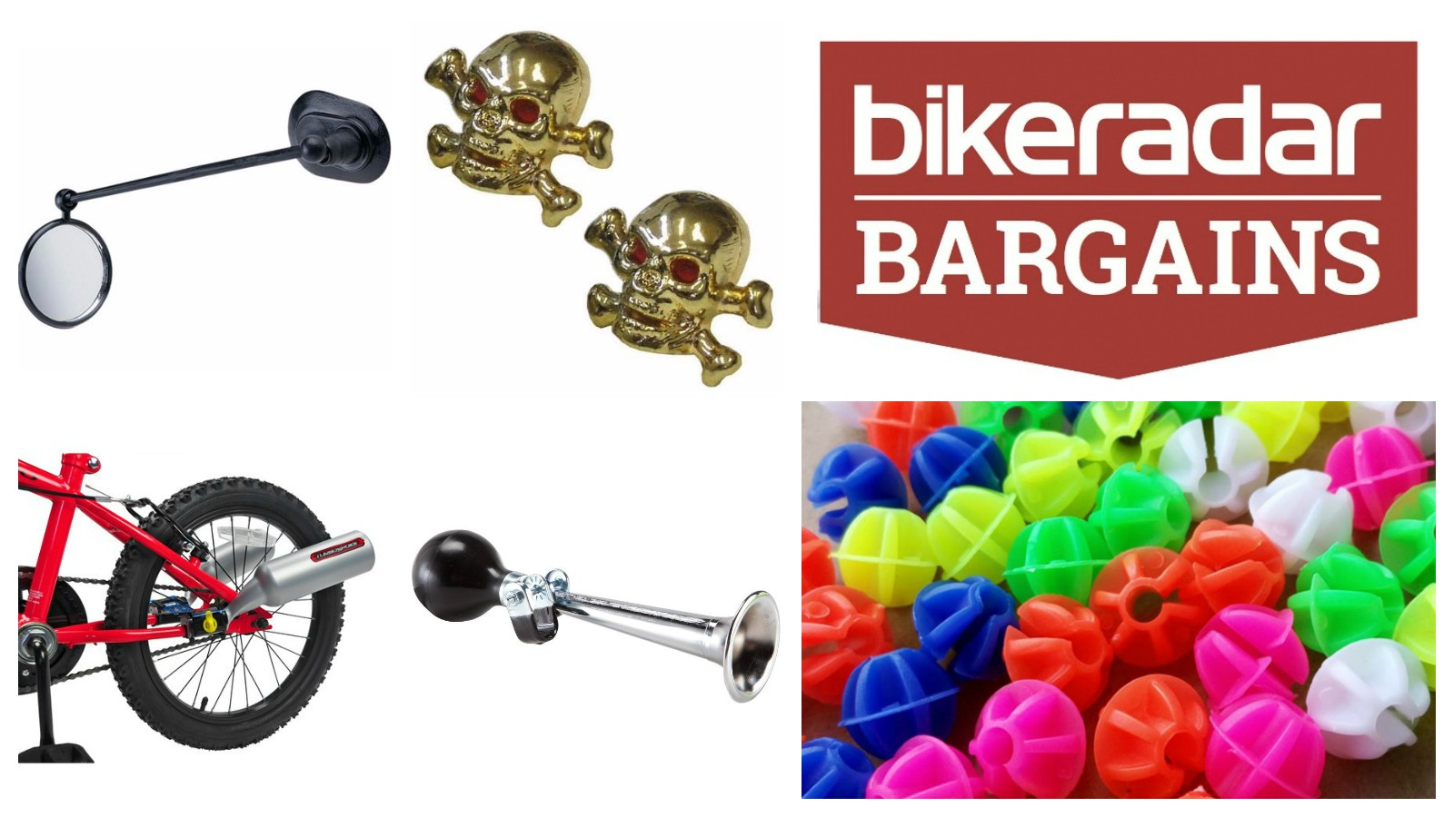 For this week's edition of BikeRadar Bargains, we've pulled together five of the naffest accessories we could find from around the web