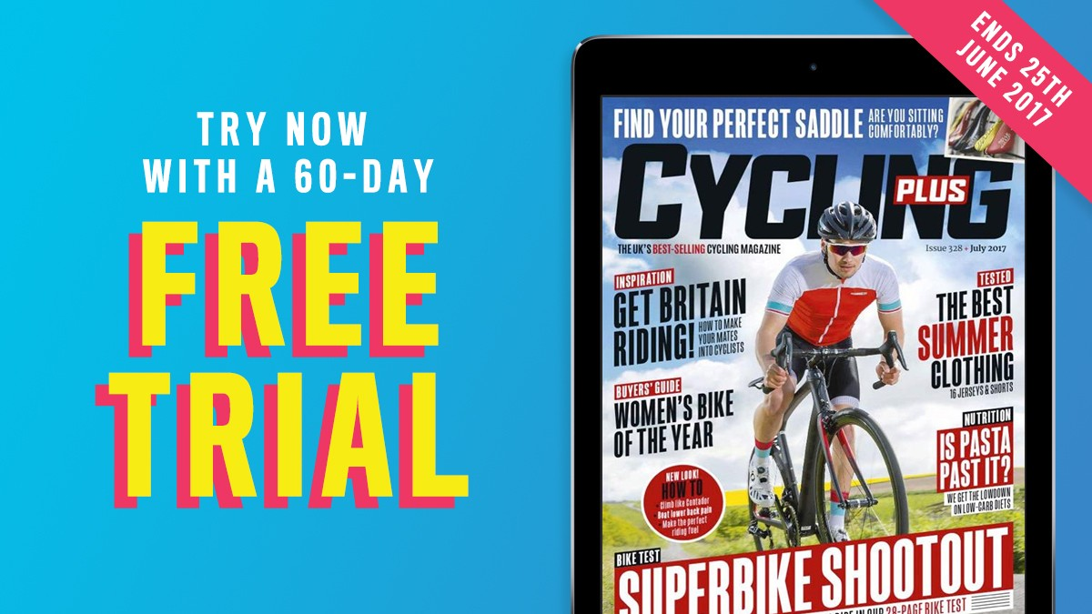 Get your free 60-day trial to the Cycling Plus digital edition