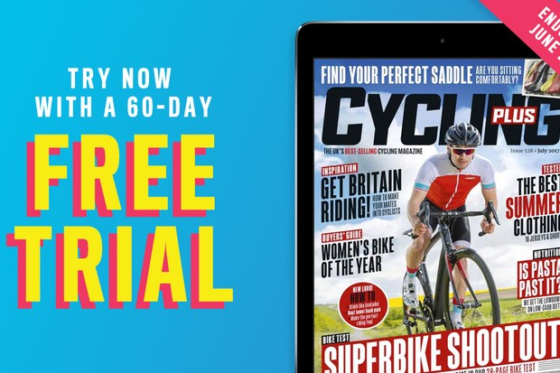 Get your free 60-day trial tothe Cycling Plusdigital edition