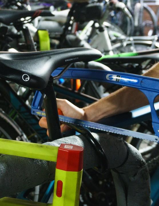 Having a bike stolen really, really sucks