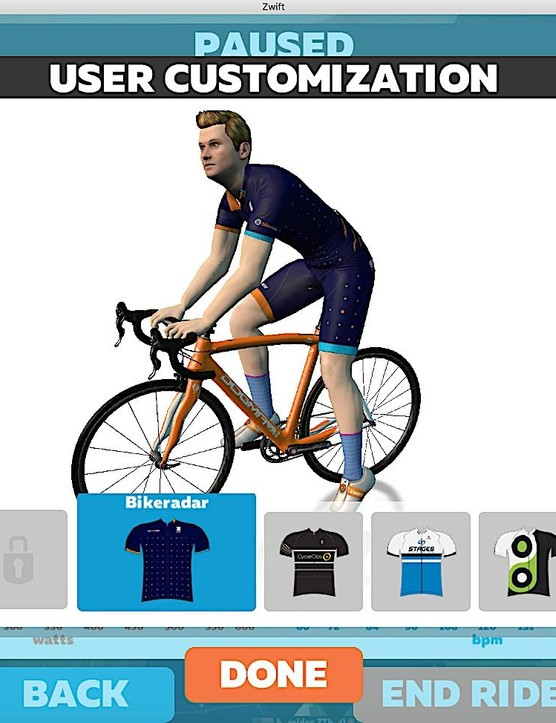 You can choose your hair color and style, skin tone and more. Make sure to get the BikeRadar kit!