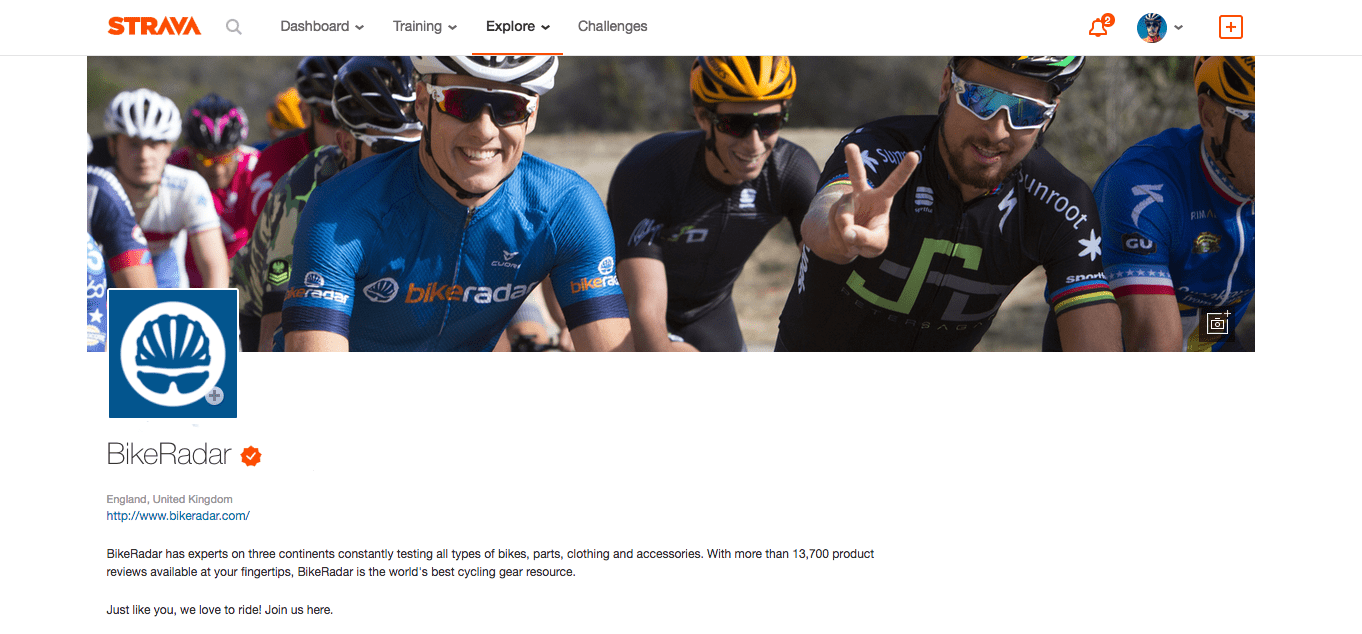 Ride bikes often, and share the fun on our Strava club