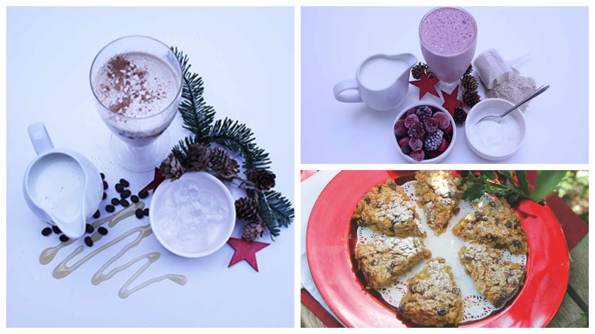 Festive smoothies to get you in the mood for Christmas