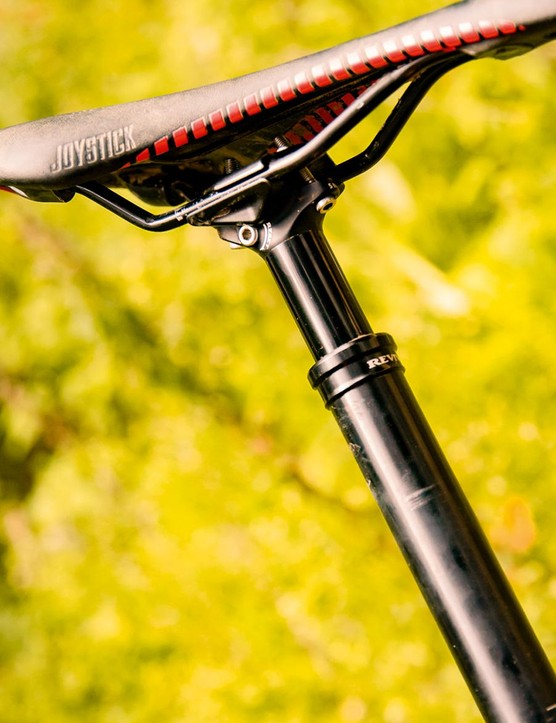 BikeYoke's Revive 160mm dropper seatpost