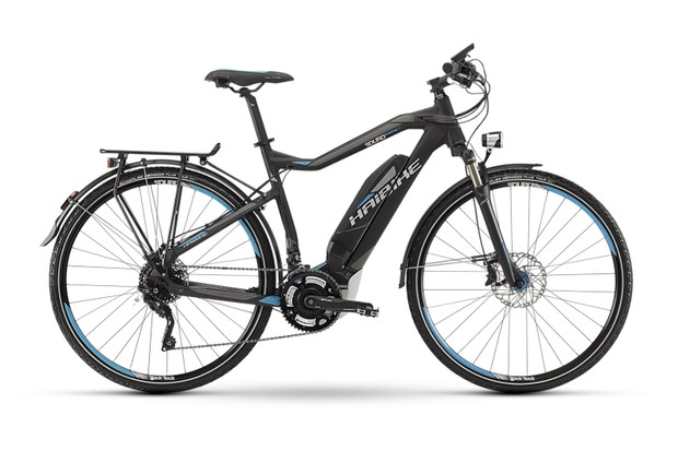 The Haibike Trekking RC is a highly capable e-bike for touring