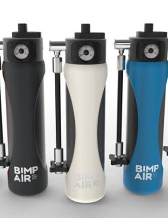 11 liters of compressed air in your water bottle cage