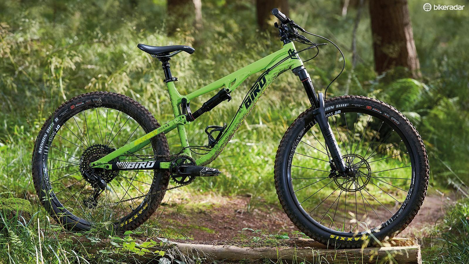 The Aeris feels like more of an enduro than trail bike