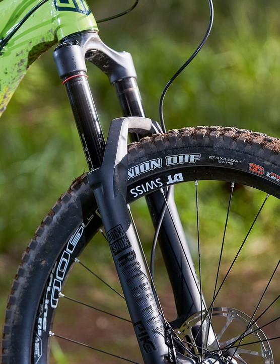 The 150mm-travel RockShox Pike is a benchmark performer