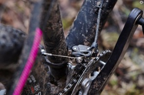 You can easily upgrade to a 1x transmission, but our 2x10 SLX setup worked a treat