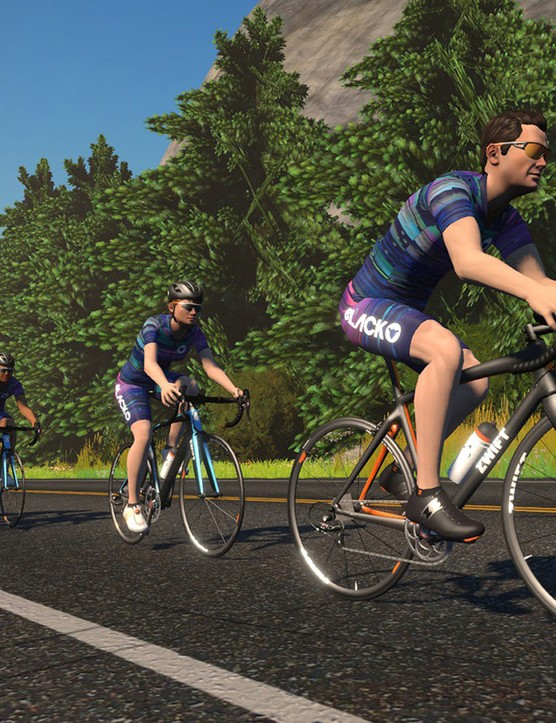 You can also join the rides on Zwift