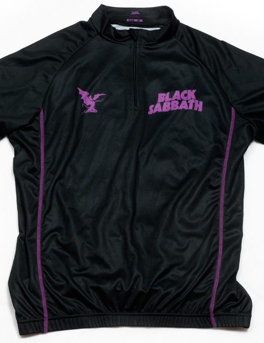 Black Sabbath jersey from No Quarter Sport