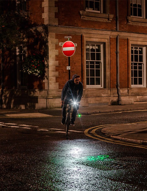 Check out the Blaze Laserlight at the London Bike Show's Innovation Zone