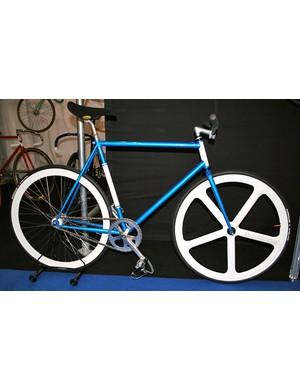 BLB track bike with aerospoke