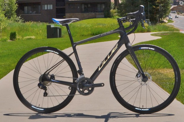 Blue's Prosecco EX is an endurance road bike loaded with Ultegra Di2 and Shimano disc brakes
