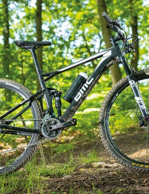 A little extra weight over its XC rivalsis excusable given the BMC's extraconfidence on technical trails