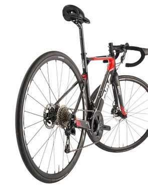 The dropped seatstays are a signature element