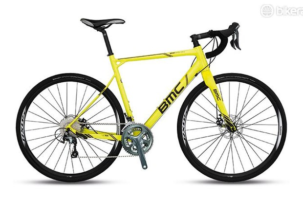 BMC's Granfondo GF02 Disc is built around a superbly sophisticated alloy frame