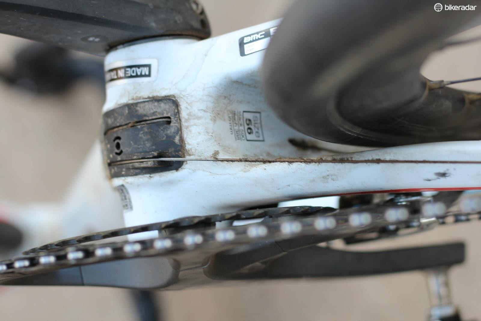 I'd like to see the rear derailleur cable either hidden in the frame or at least sheathed in housing