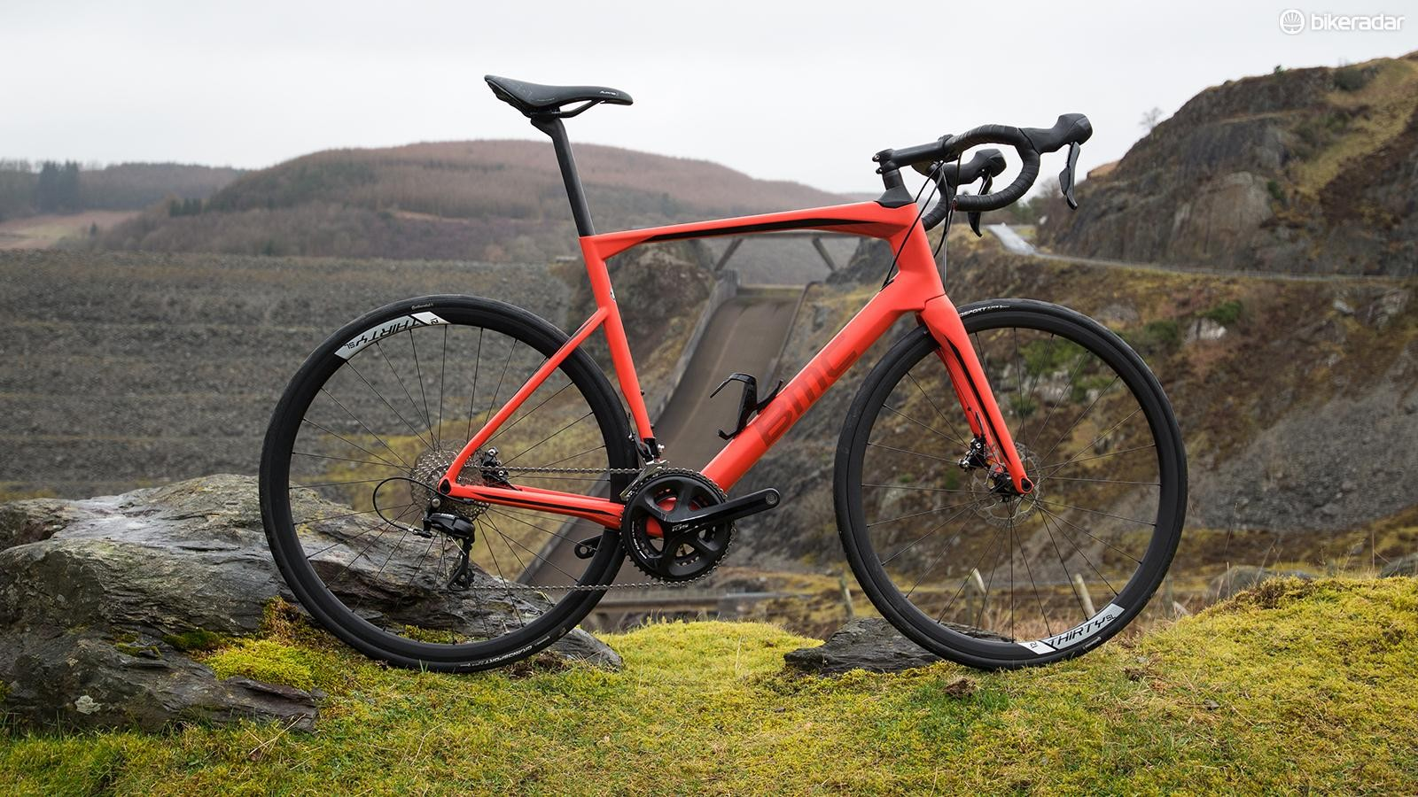 1814b24ea6f The BMC Roadmachine 02 105 blends race and endurance traits for an amazing  ride