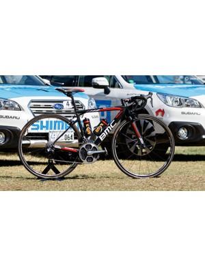 The 2016 BMC Teammachine SLR01 of Australian Richie Porte
