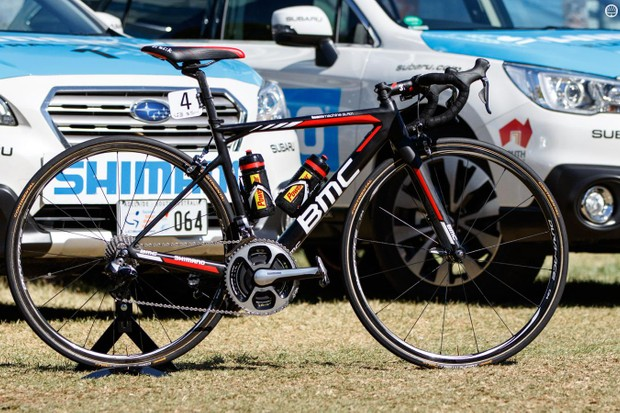 The 2016 BMC Teammachine SLR01 of Australian Richie Porte