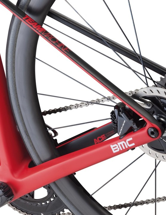 The SLR01 Disc Team comes with the new Dura-Ace rotors (160 front and 140 rear)