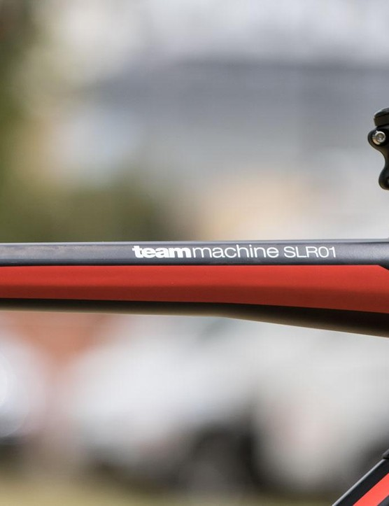 For 2016, Dennis has moved to a larger 58cm frame size