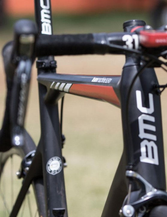 More classic angles of the BMC TeamMachine