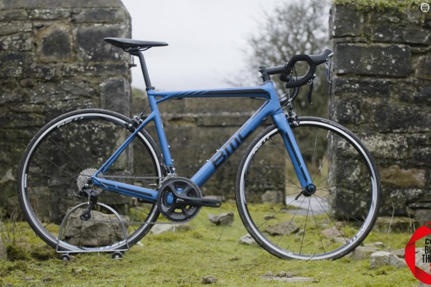 BMC's Teammachine SLR02 105 wowed our testers with its mixture of comfort and greyhound reactions