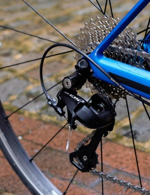 The compact rear triangle delivers awesome responsiveness