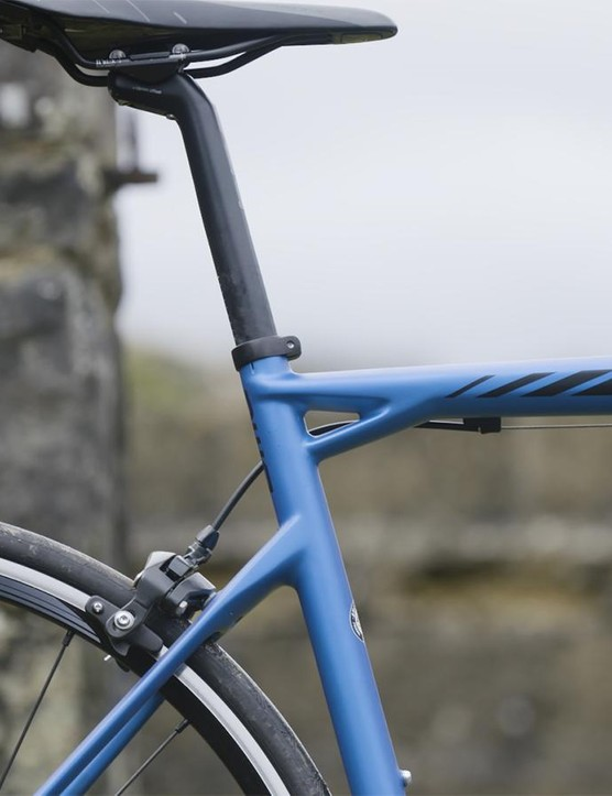 The race-bred frame went through 34,000 iterations via BMC's modelling software