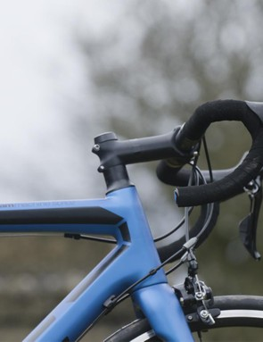 The BMC cockpit is ergonomic, stiff, comfortable and well finished